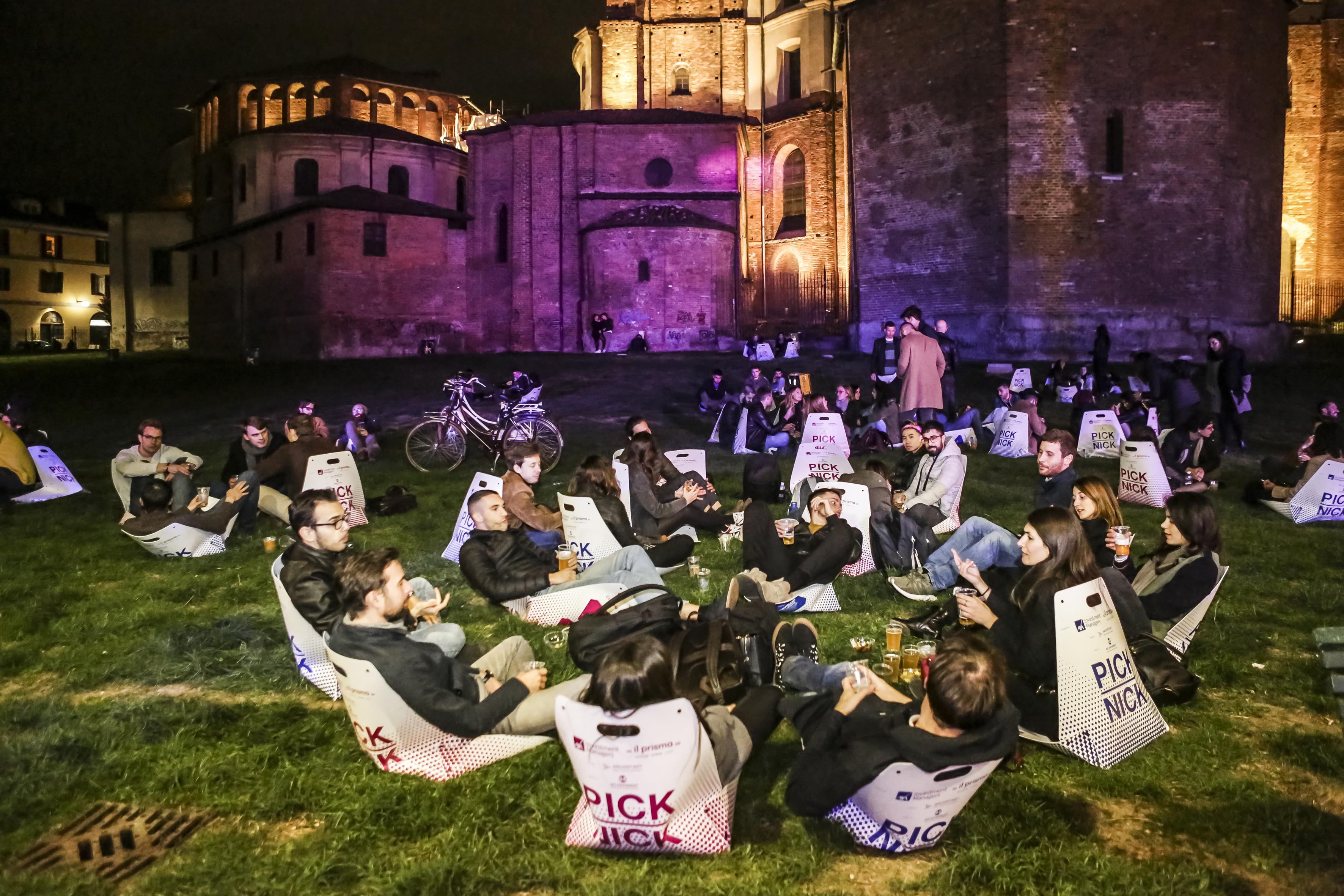 """PICK NICK di Be Different anima il """"Facciamo Piazza"""" Milan Design Week'19"""