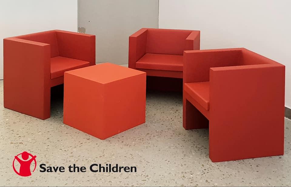 Be Different fornitore ufficiale per gli arredi della nuova sede di Save the Children.